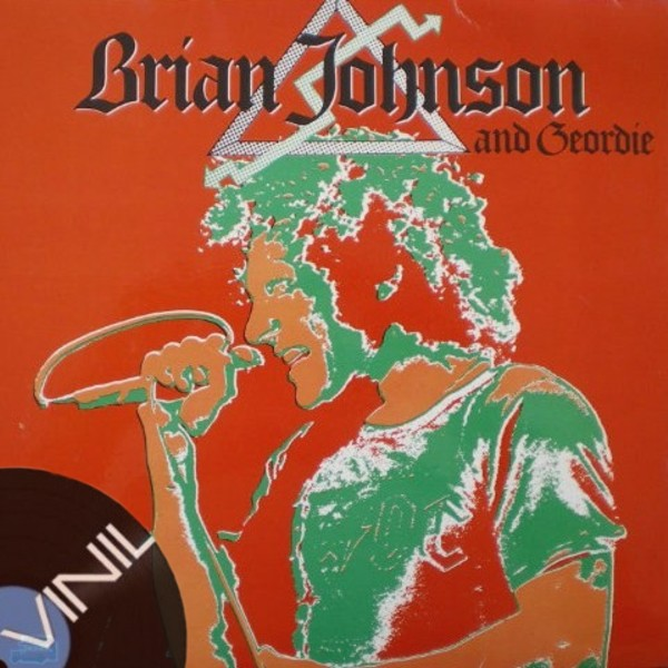 Vinil: BRIAN JOHNSON AND GEORDIE - Natural Born Loser