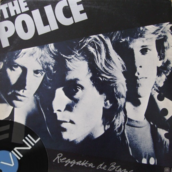 Vinil: POLICE - Message in a botle