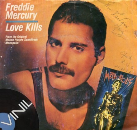 Vinil: FREDDIE MERCURY - Love Kills